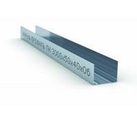 Профиль направляющий ПН 50х40х0,6мм (3м) КНАУФ